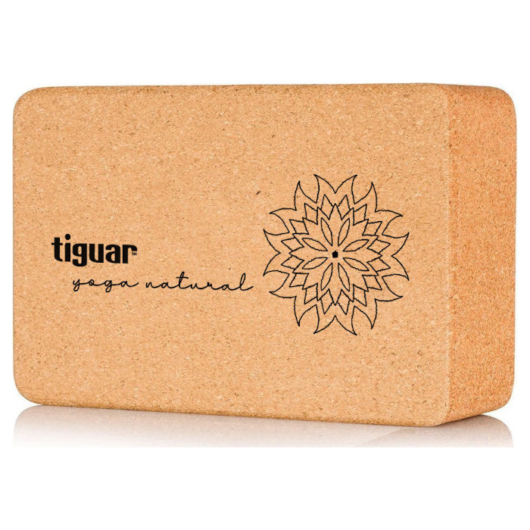 Tiguar Yoga Block Cork- Jóga tégla parafa