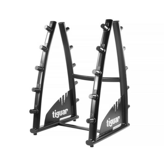 Tiguar Half Barbell Rack - Kétkezes súlyzó tartó állvány 2 oldalas