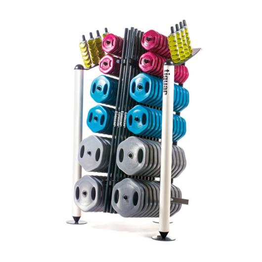 Tiguar Brave Power Gym Rack - Tárcsás súlyzó tároló