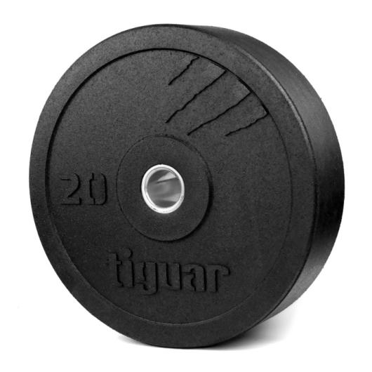 Tiguar Rubber Bumpers V2 – Gumírozott tárcsasúly