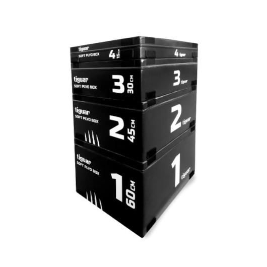 Tiguar Plyo Soft Box - Plyometrikus ugráló box